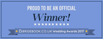 Bridebook wedding award winner